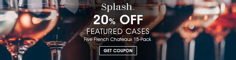 Redeeming Splash Wines Coupons